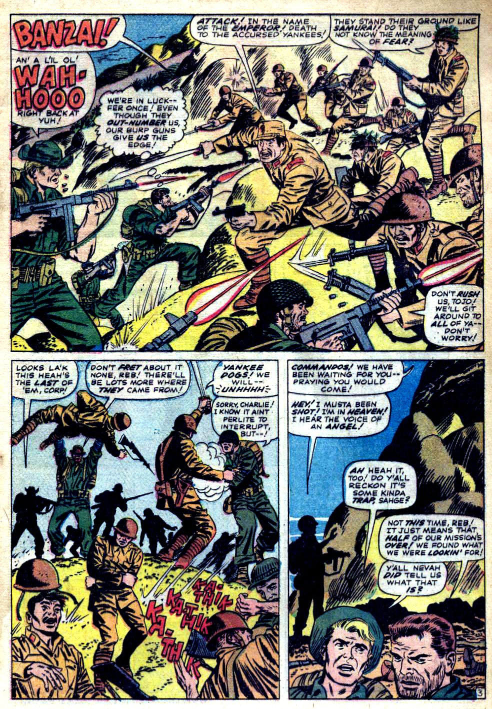 Read online Sgt. Fury comic -  Issue #23 - 5