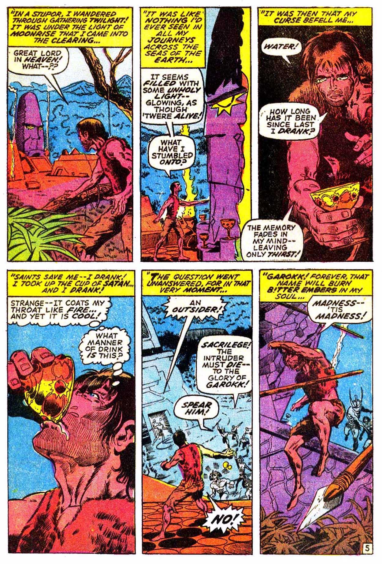 Read online Astonishing Tales (1970) comic -  Issue #3 - 16