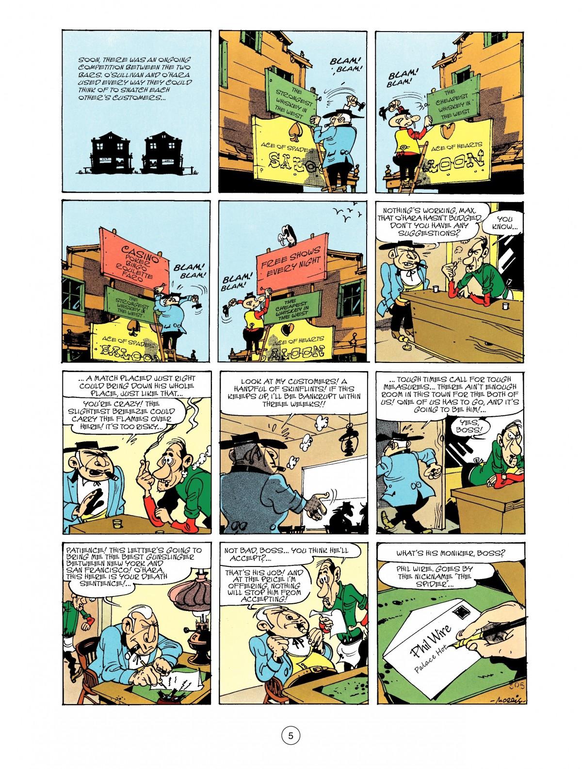 Read online A Lucky Luke Adventure comic -  Issue #40 - 5