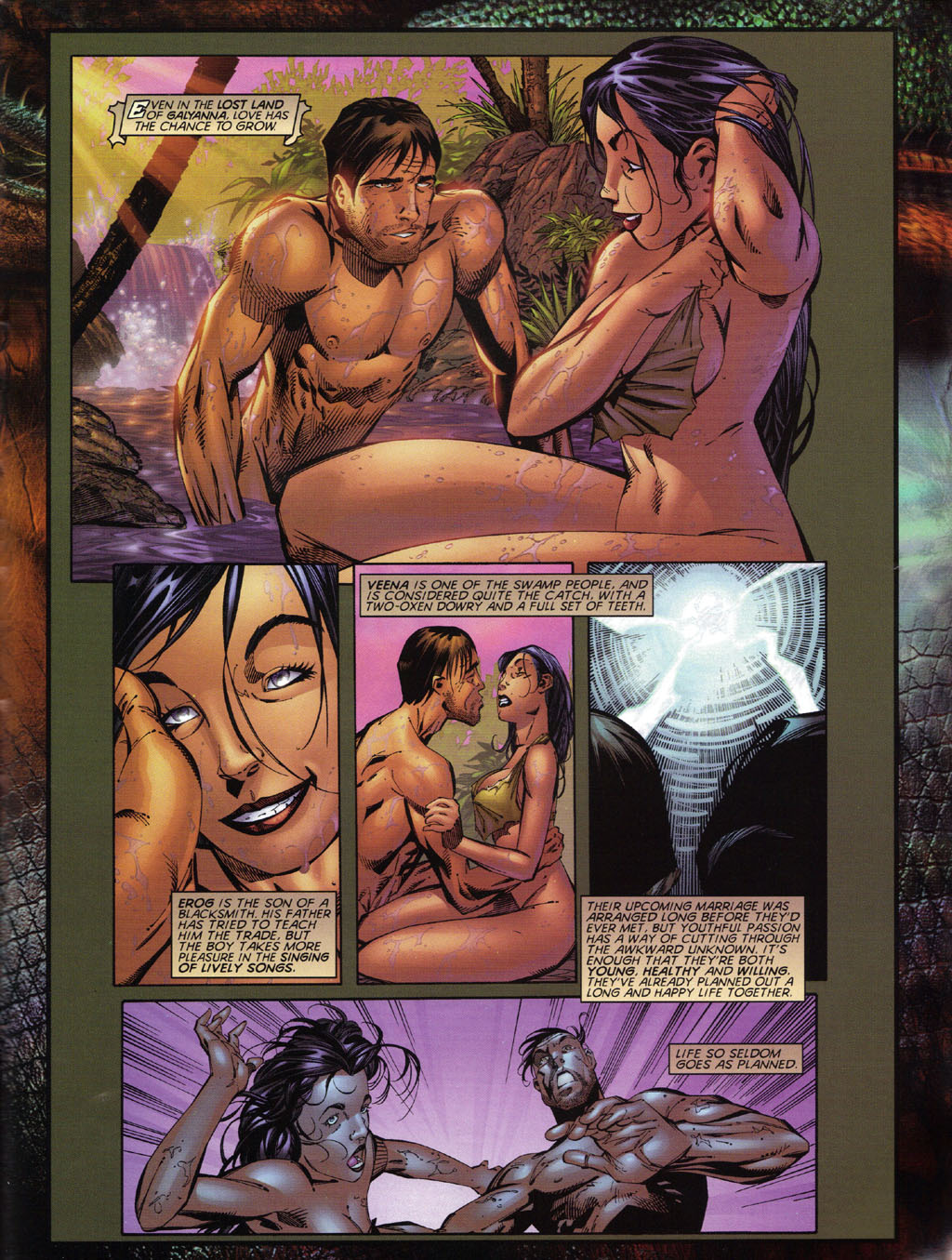 Read online Turok 2: Adon's Curse comic -  Issue # Full - 4