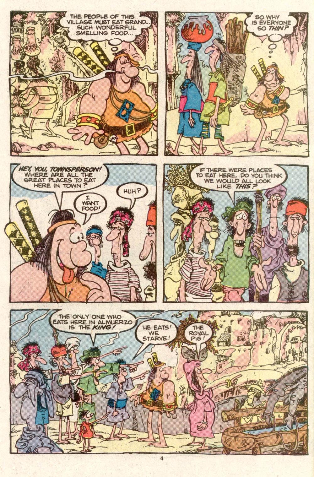 Read online Sergio Aragonés Groo the Wanderer comic -  Issue #28 - 4