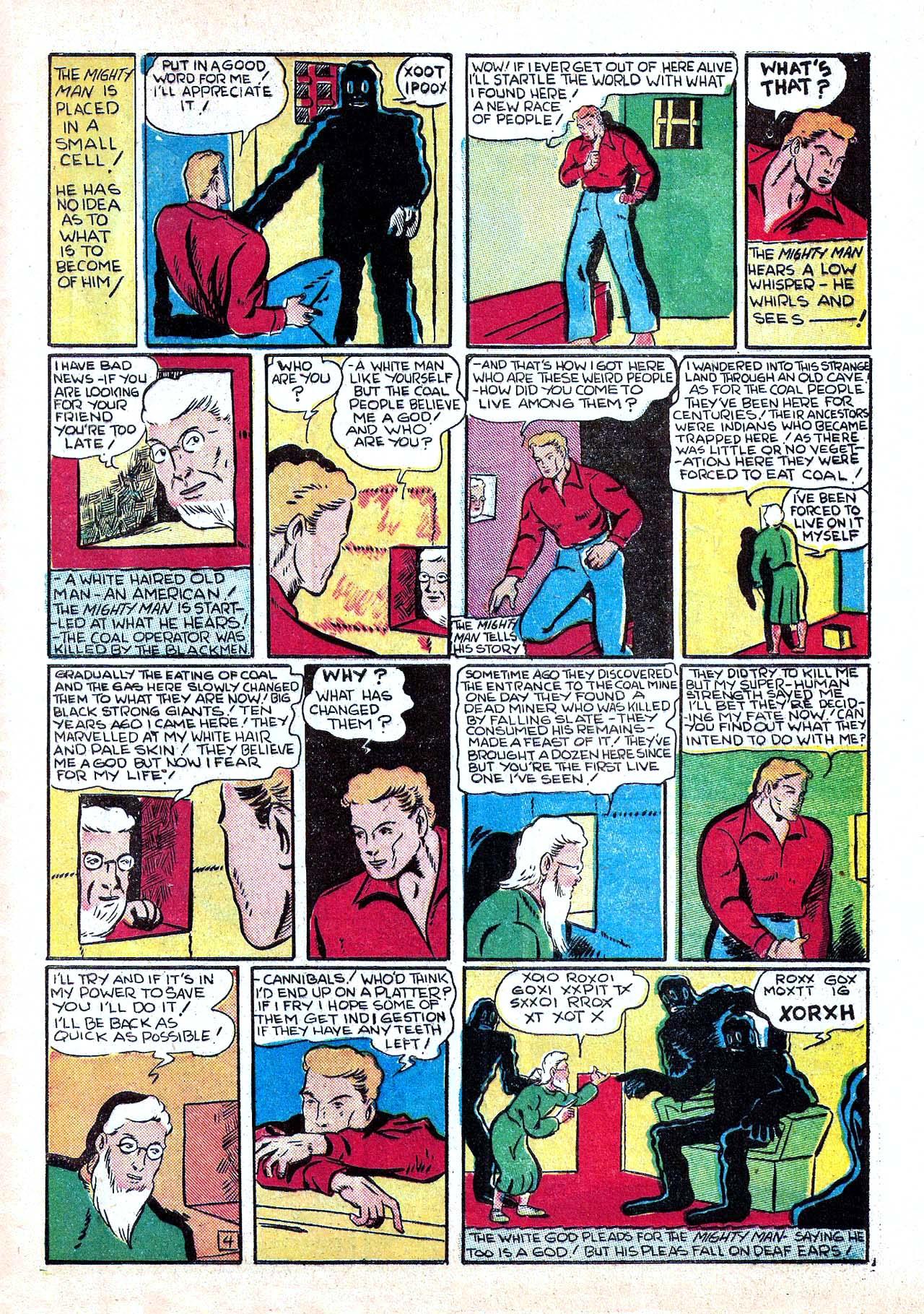 Read online Amazing Man Comics comic -  Issue #11 - 55