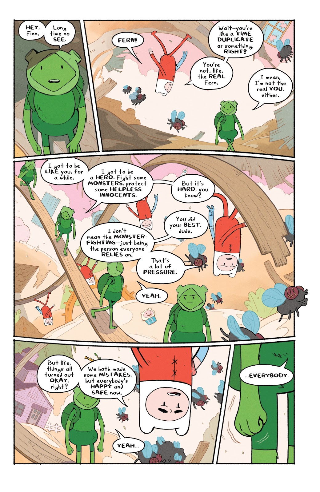 Read online Adventure Time: Beginning of the End comic -  Issue # _TPB - 34