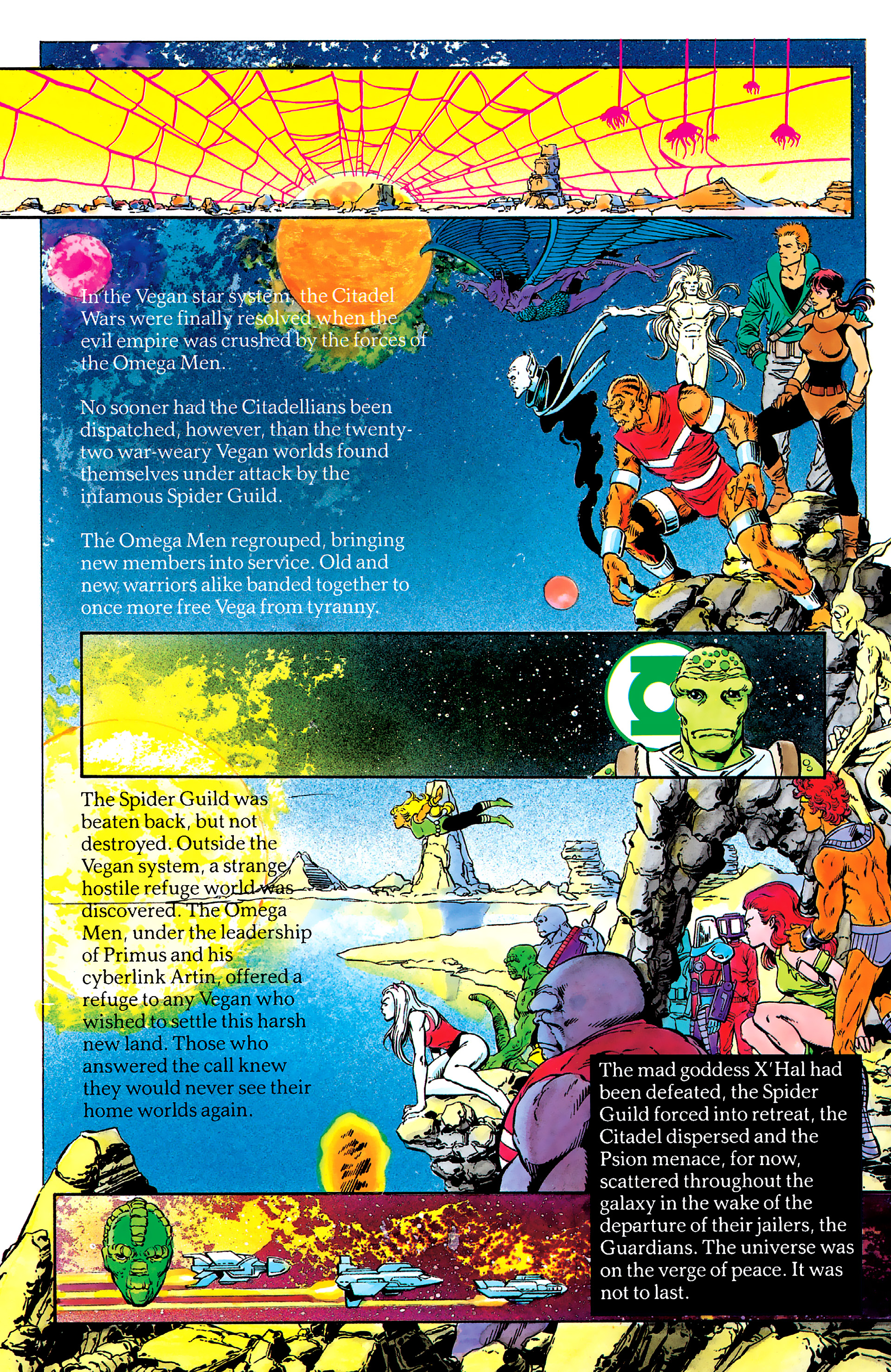 Read online History of the DC Universe comic -  Issue #2 - 38