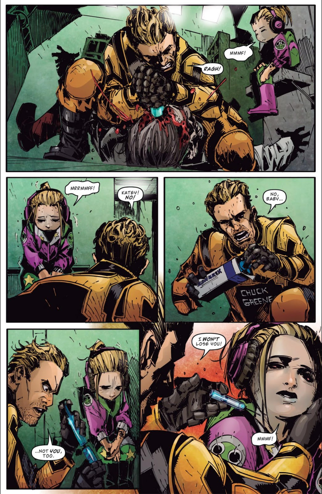 Read online Dead Rising: Road to Fortune comic -  Issue #4 - 15