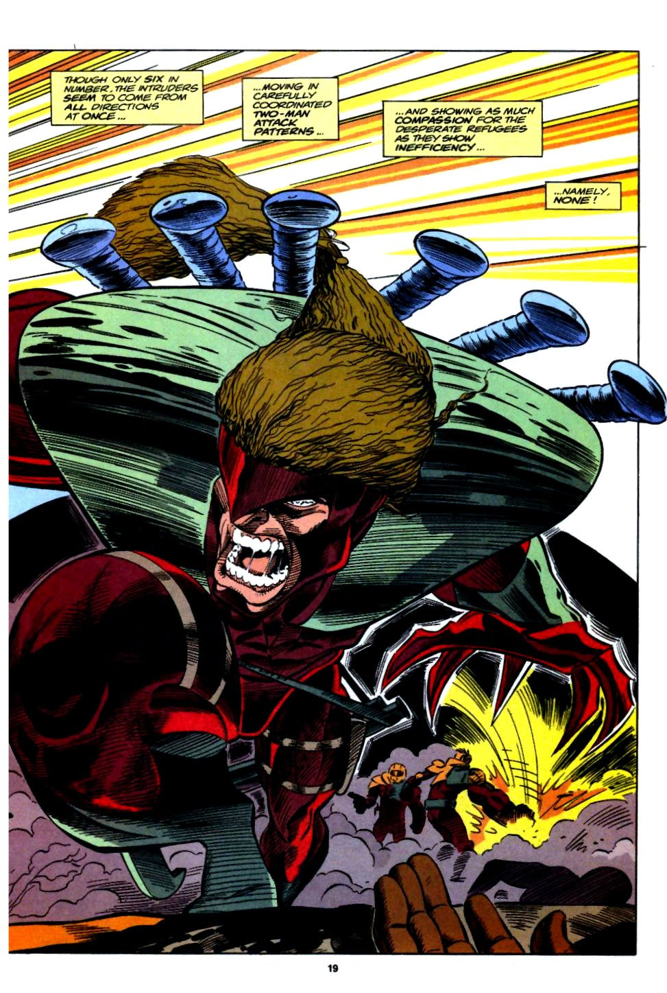 The New Warriors Issue #54 #58 - English 15