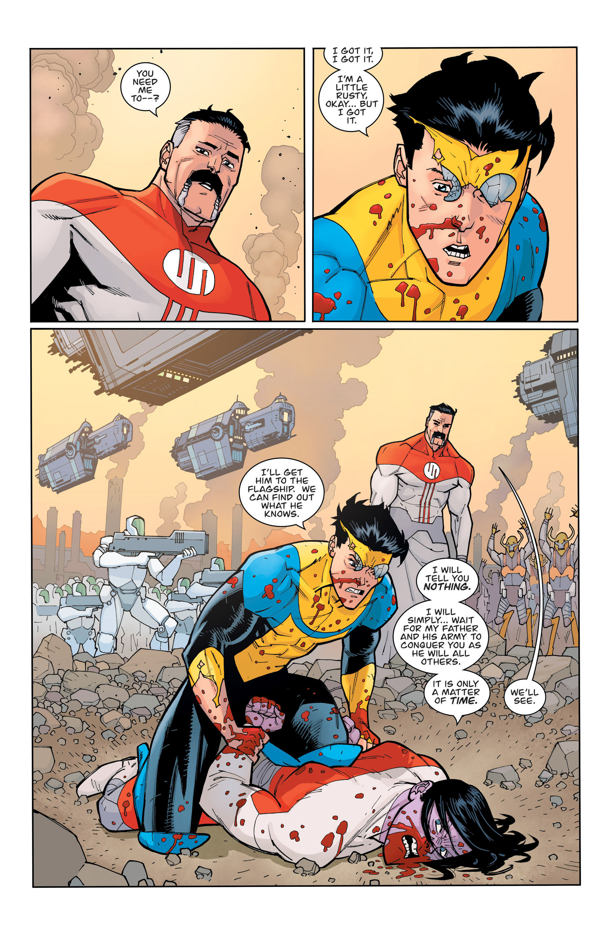 Read online Invincible comic -  Issue #135 - 8