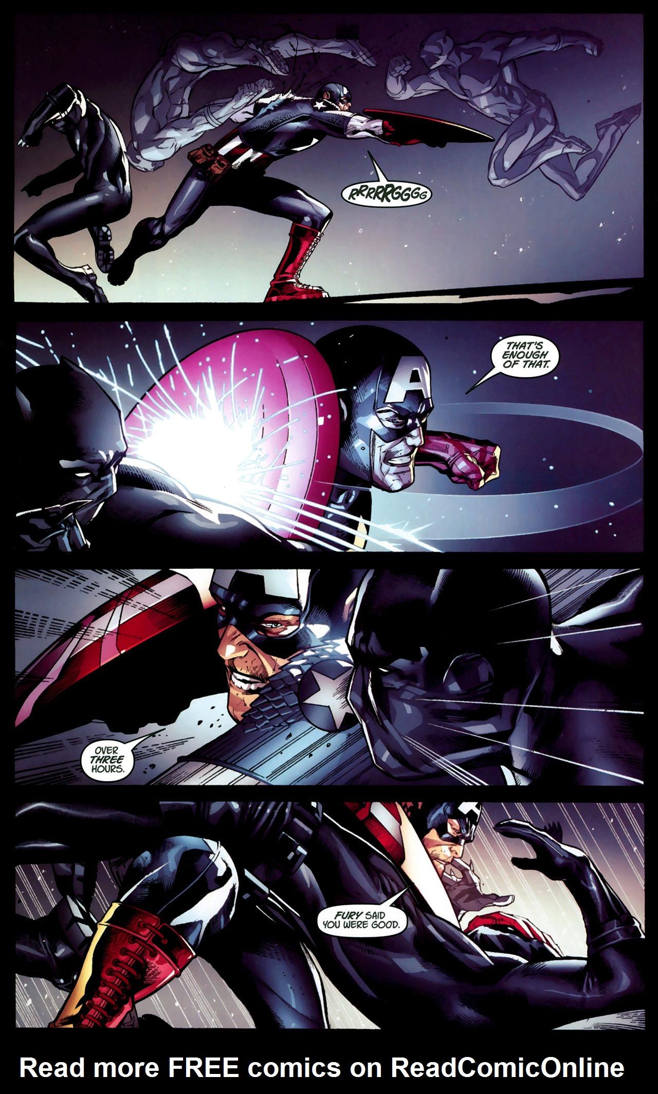 Read online Ultimate Captain America (2008) comic -  Issue # Full - 13
