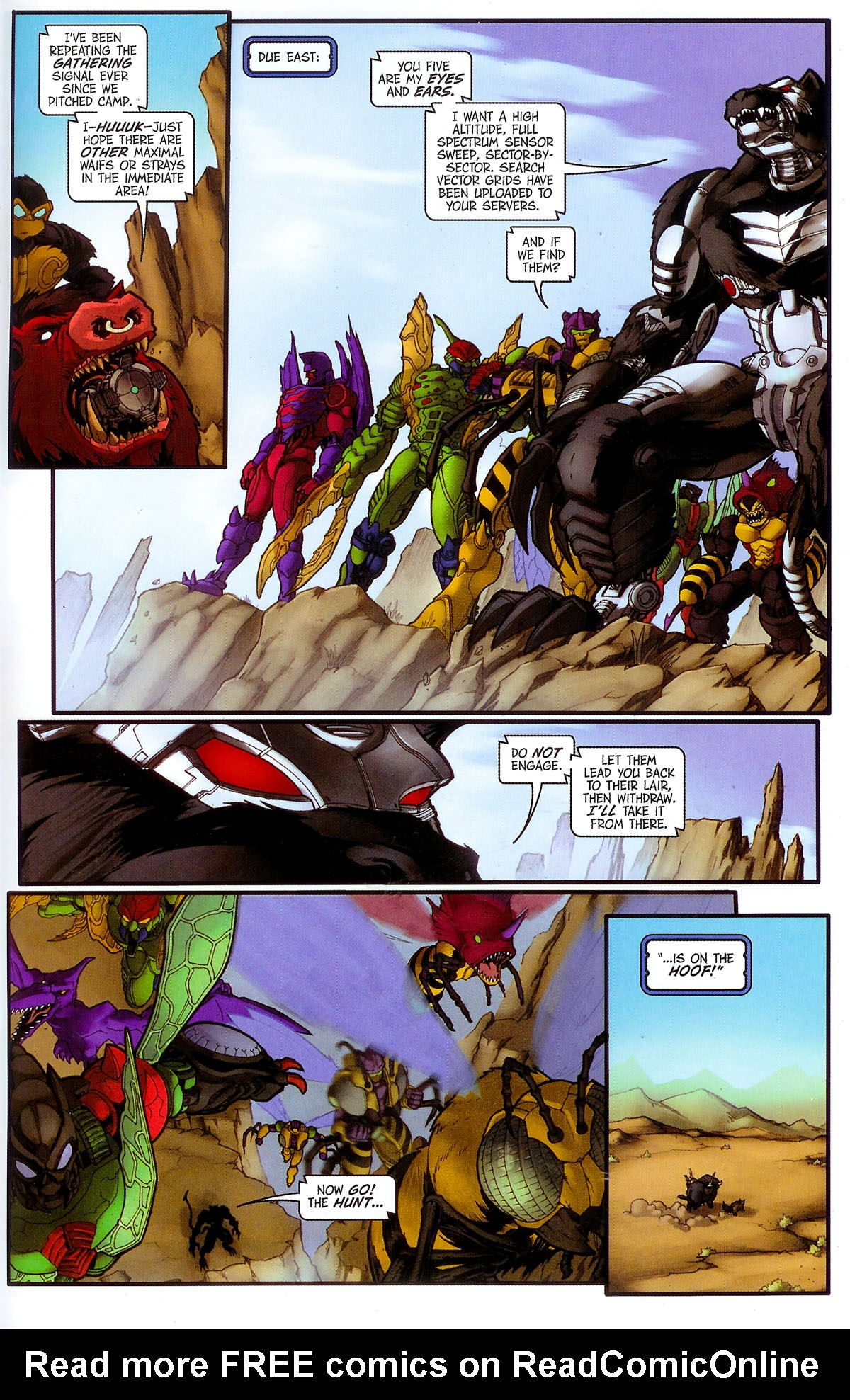 Read online Transformers, Beast Wars: The Gathering comic -  Issue #3 - 22