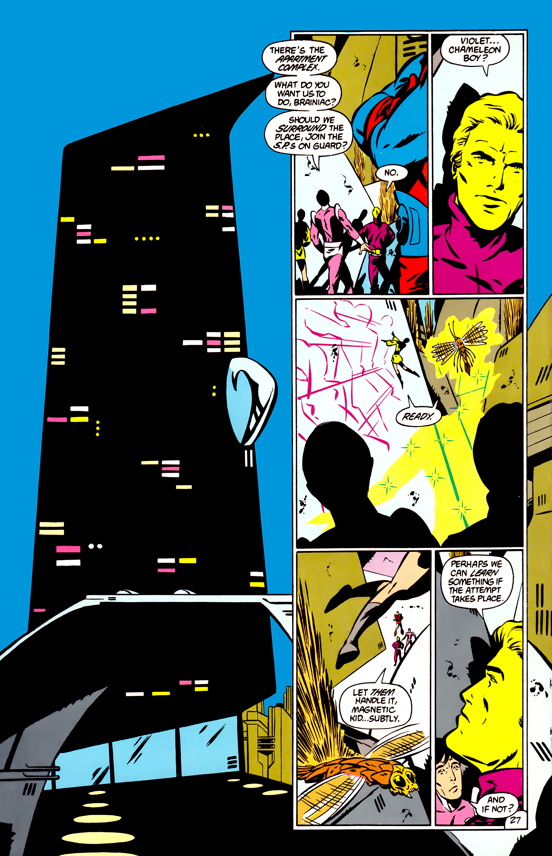 Legion of Super-Heroes (1984) _Annual_1 Page 28