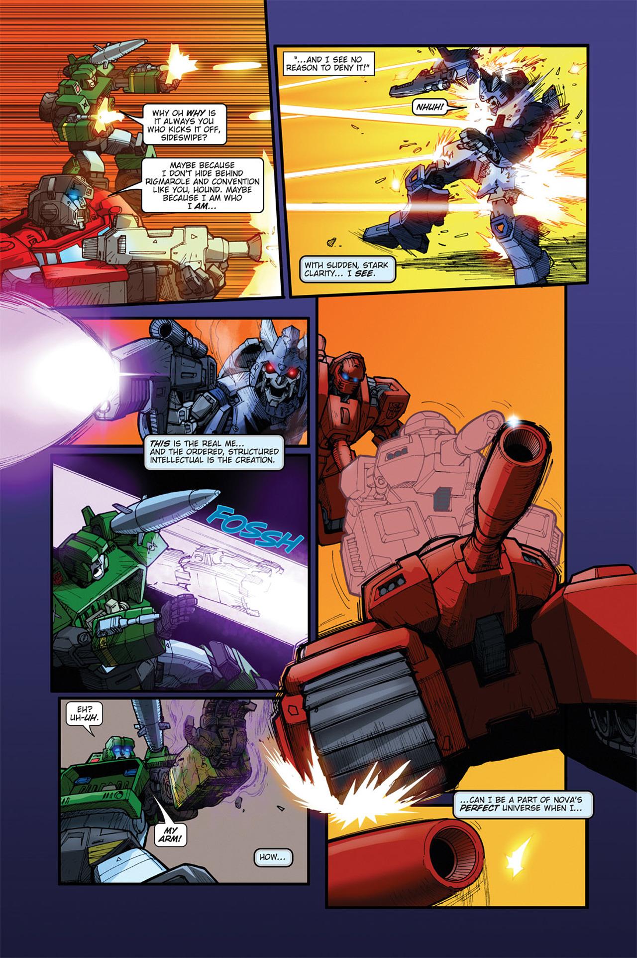 Read online Transformers Spotlight: Cyclonus comic -  Issue # Full - 22