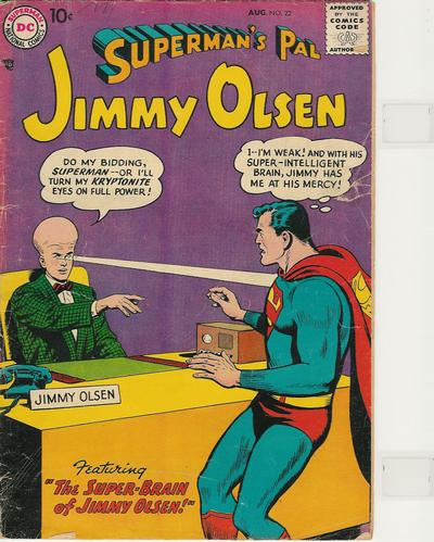 Supermans Pal Jimmy Olsen (1954) 22 Page 1
