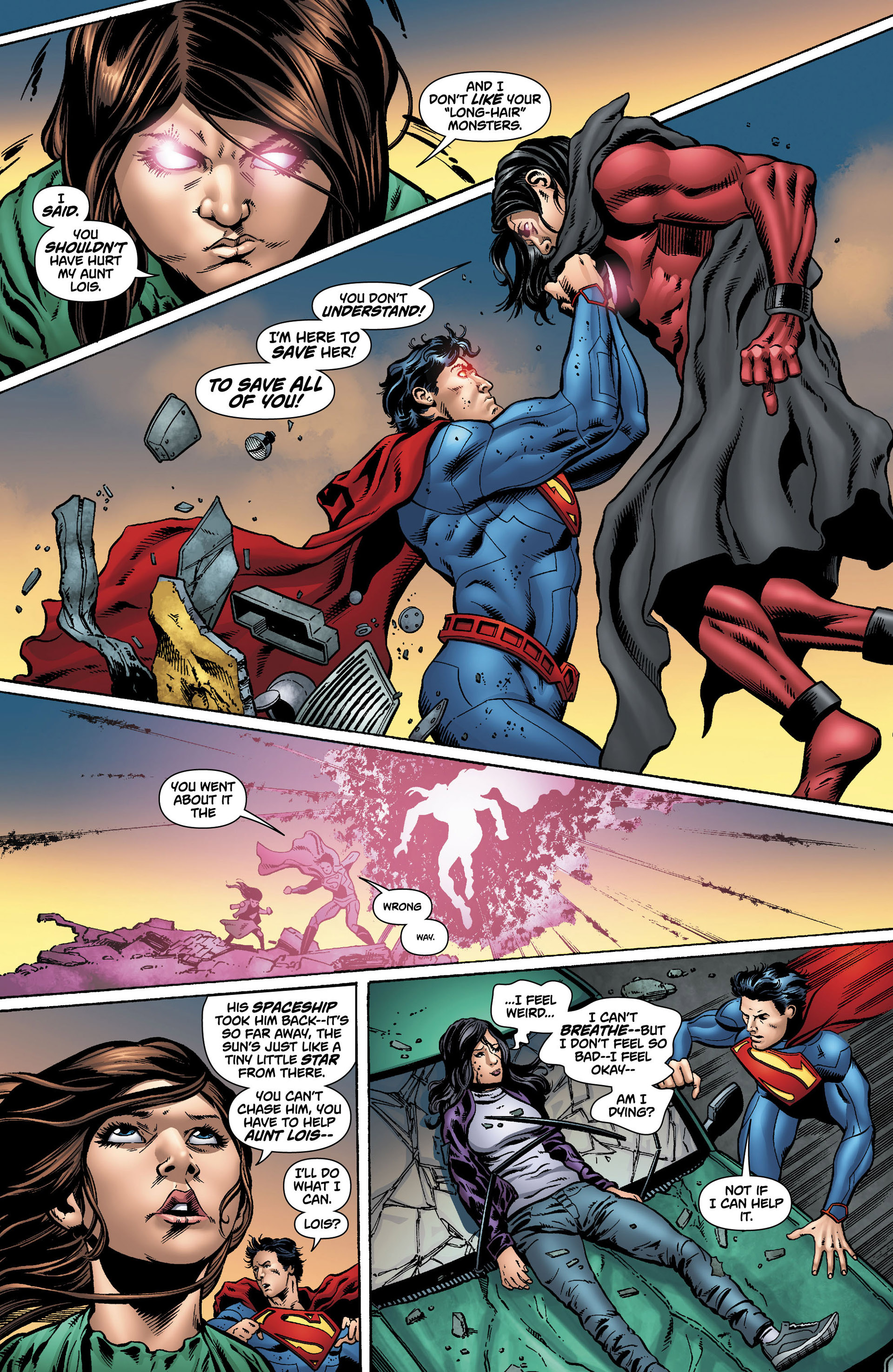 Read online Action Comics (2011) comic -  Issue #12 - 22