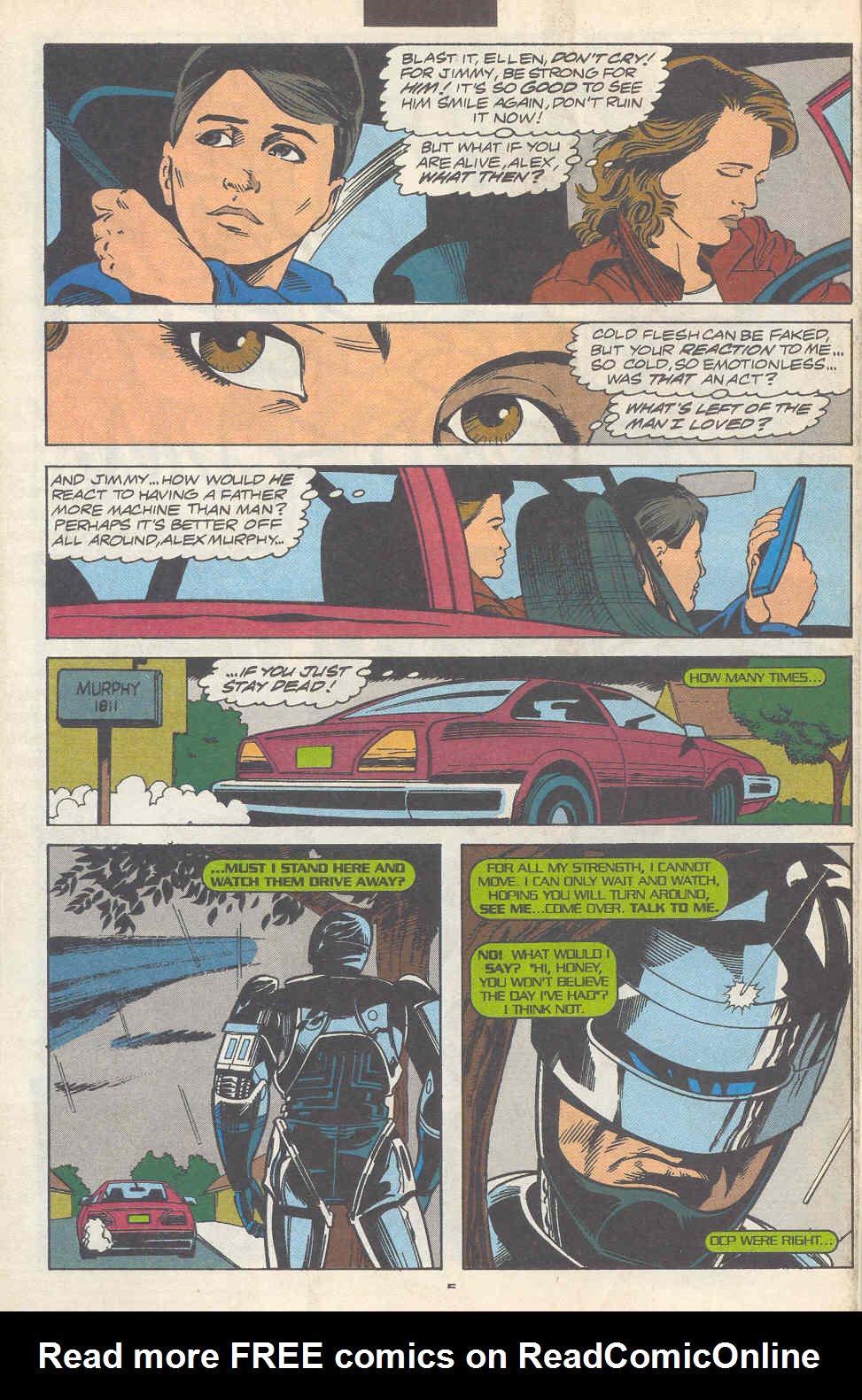 Read online Robocop (1990) comic -  Issue #17 - 6