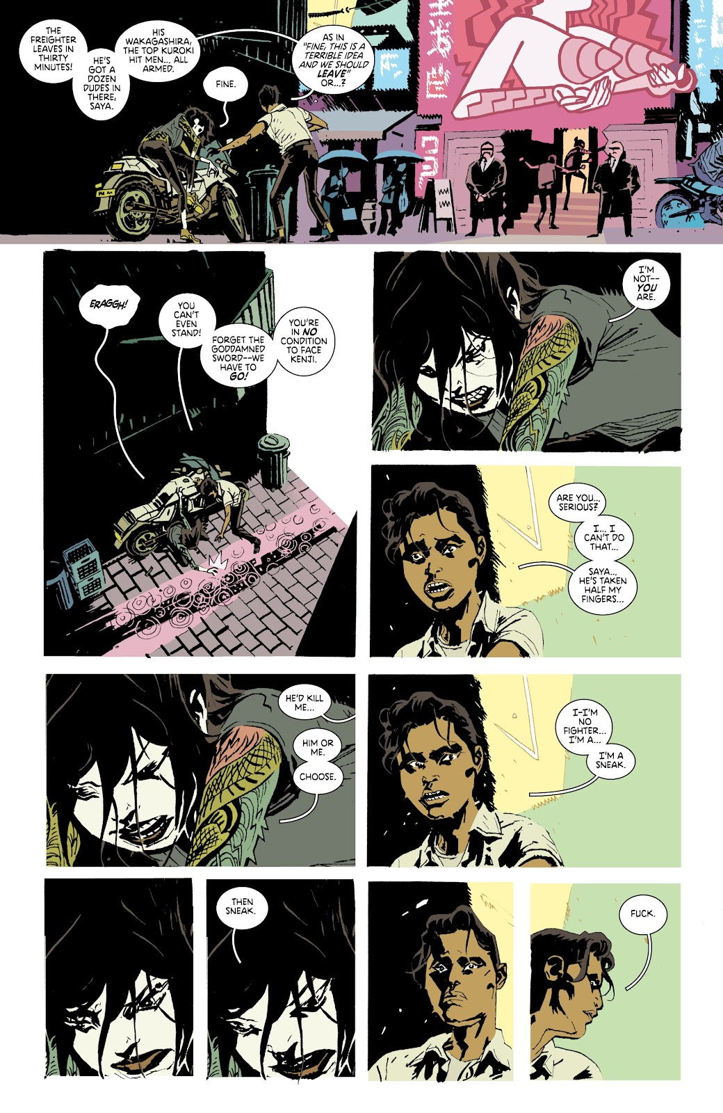 Read online Deadly Class comic -  Issue #37 - 11