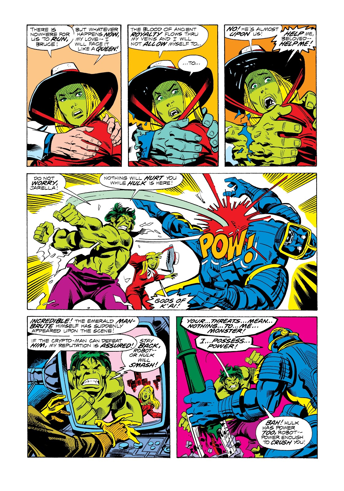 Read online Marvel Masterworks: The Incredible Hulk comic -  Issue # TPB 12 (Part 2) - 100