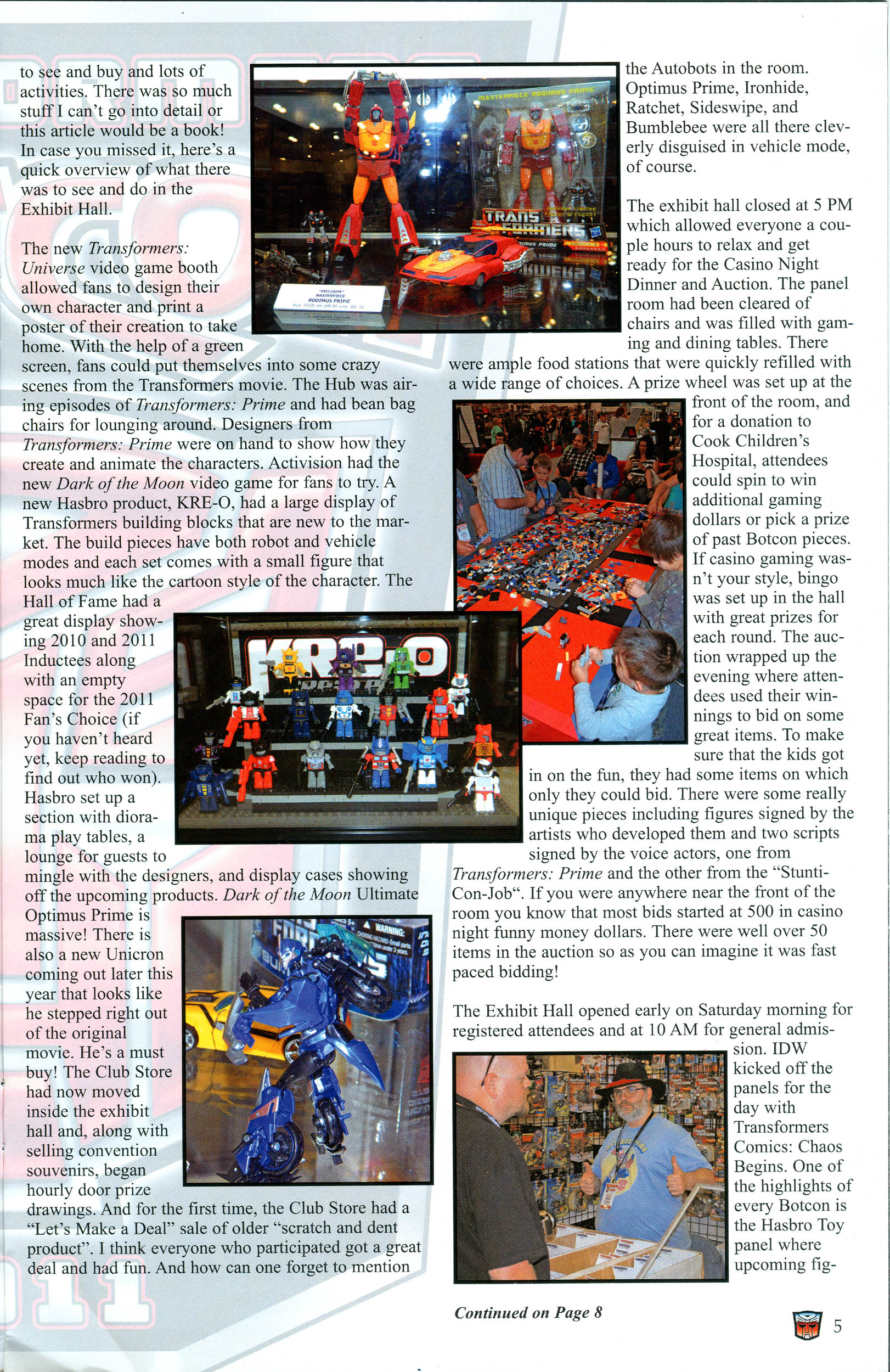 Read online Transformers: Collectors' Club comic -  Issue #40 - 5