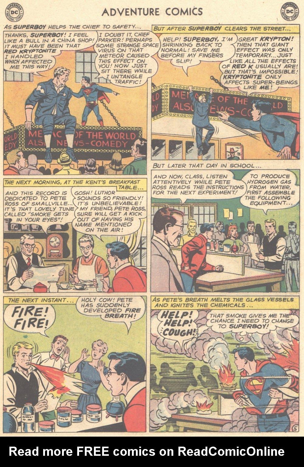 Read online Adventure Comics (1938) comic -  Issue #308 - 6