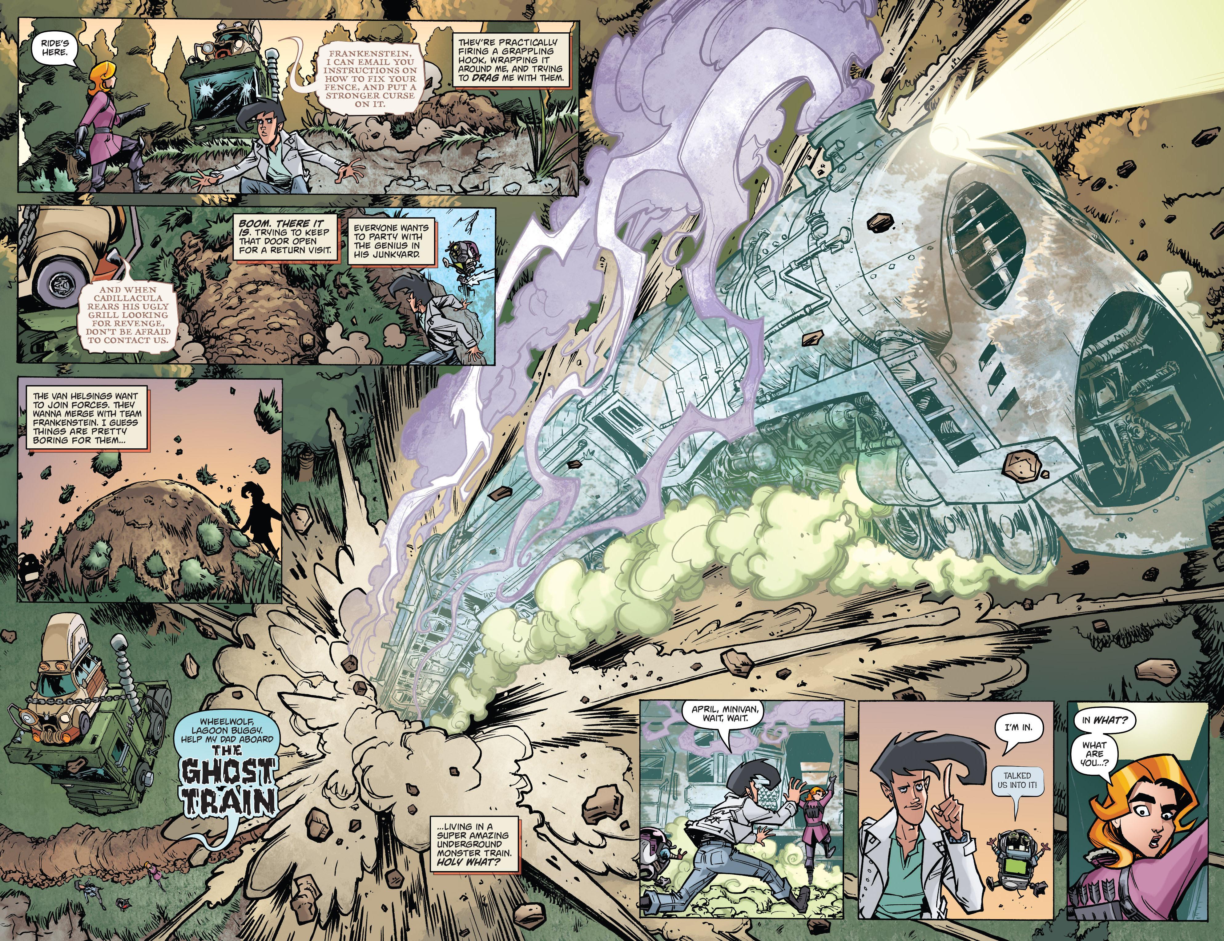 Read online Monster Motors: The Curse of Minivan Helsing comic -  Issue #2 - 22