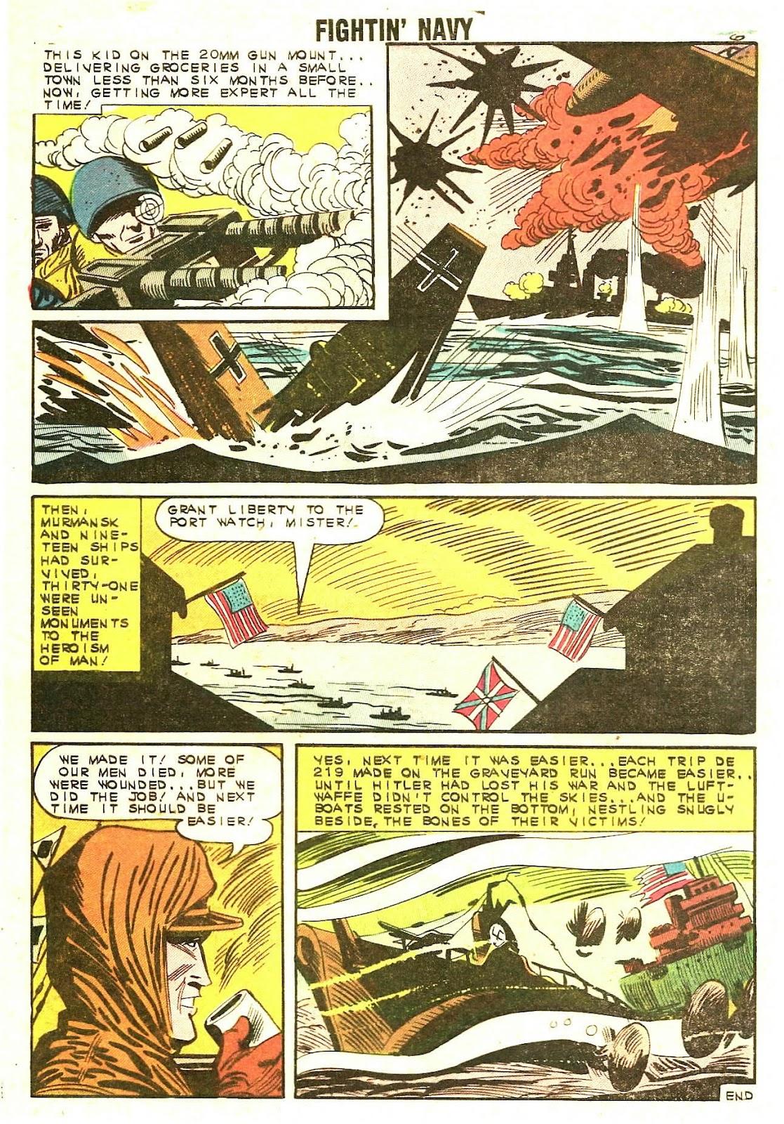 Read online Fightin' Navy comic -  Issue #110 - 8