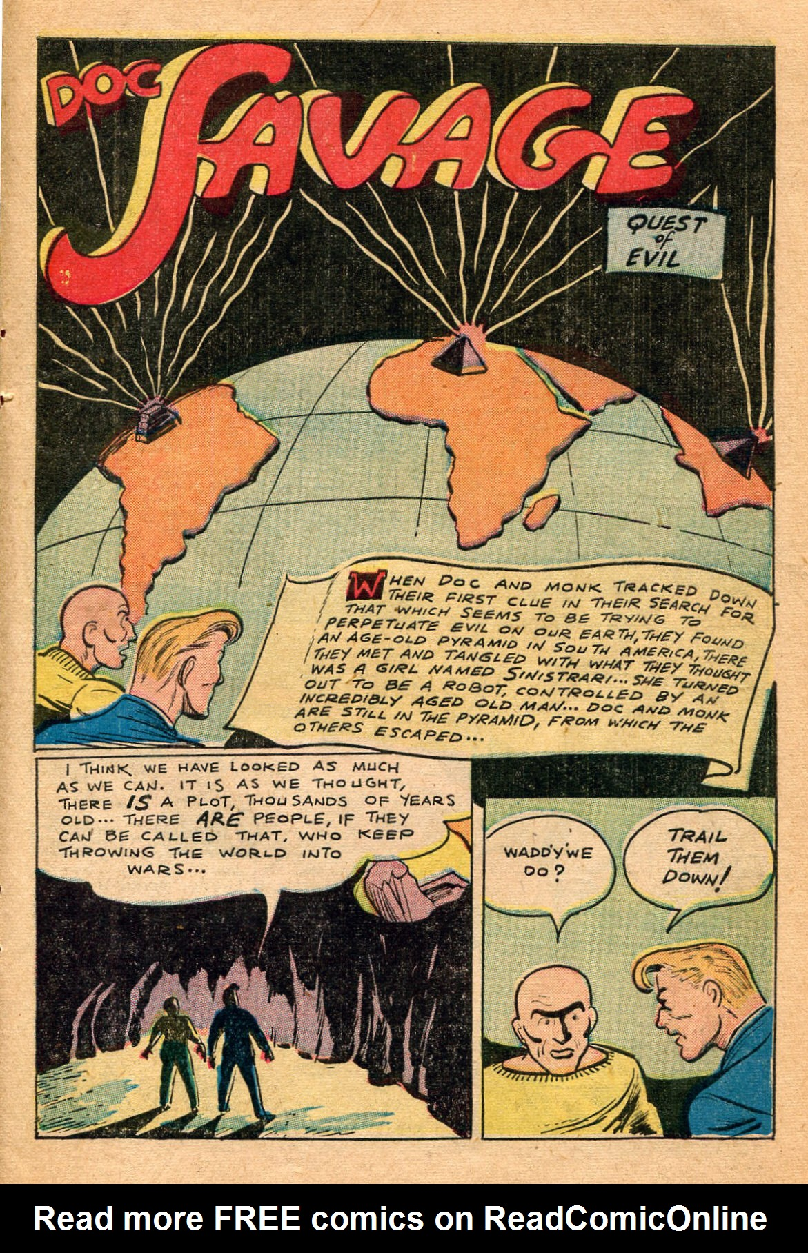 Read online Shadow Comics comic -  Issue #60 - 37