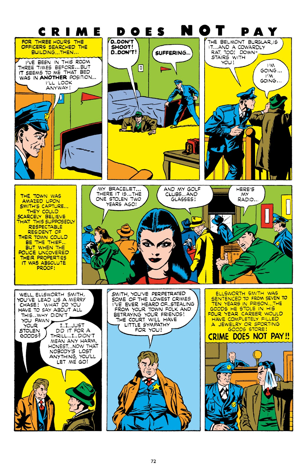 Read online Crime Does Not Pay Archives comic -  Issue # TPB 8 (Part 1) - 73