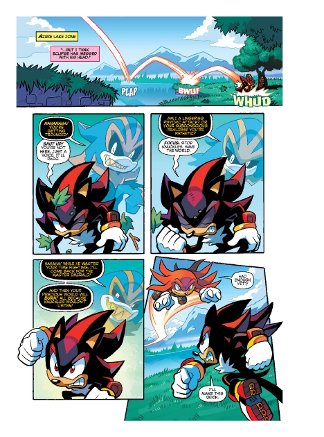 Read online Sonic Comics Spectacular: Speed of Sound comic -  Issue # Full - 218