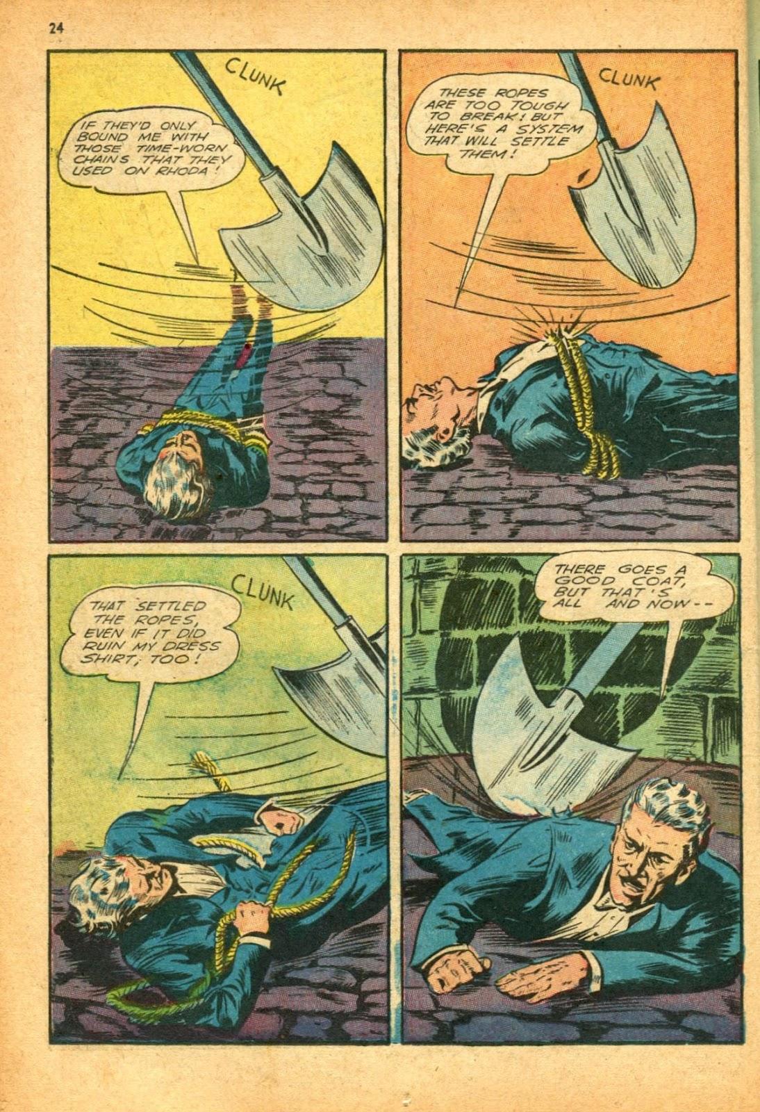 Read online Super-Magician Comics comic -  Issue #12 - 24