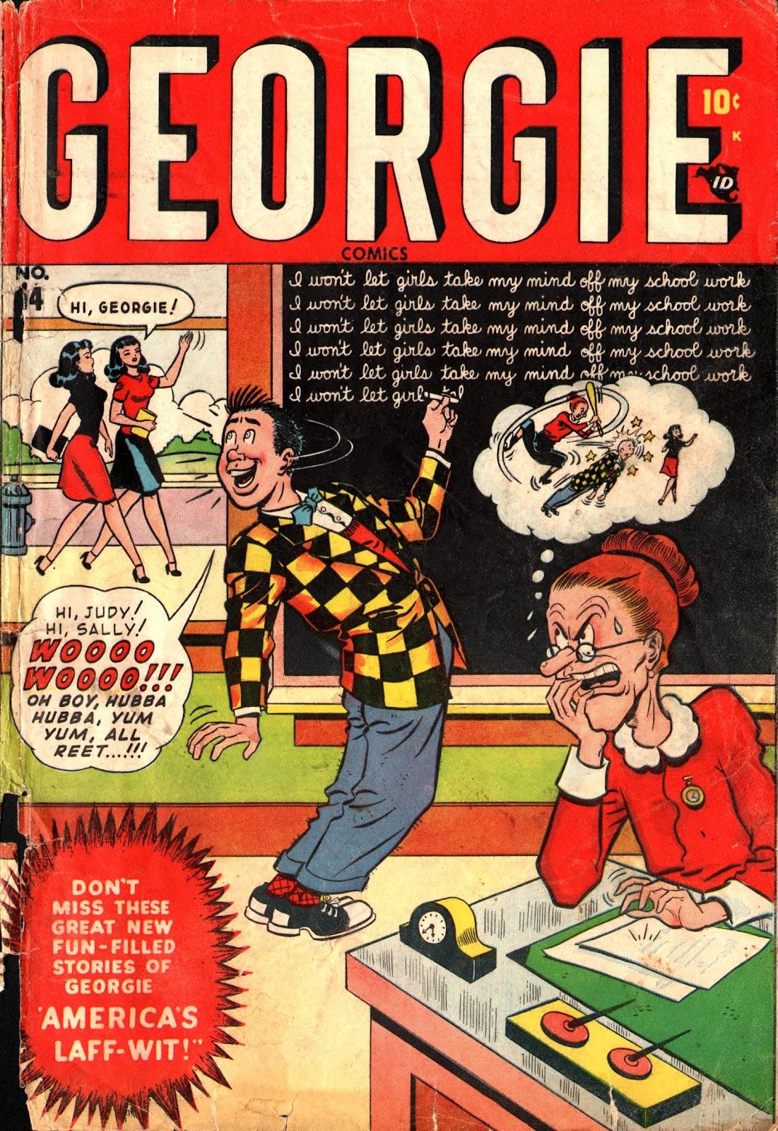 Georgie Comics (1945) issue 14 - Page 1