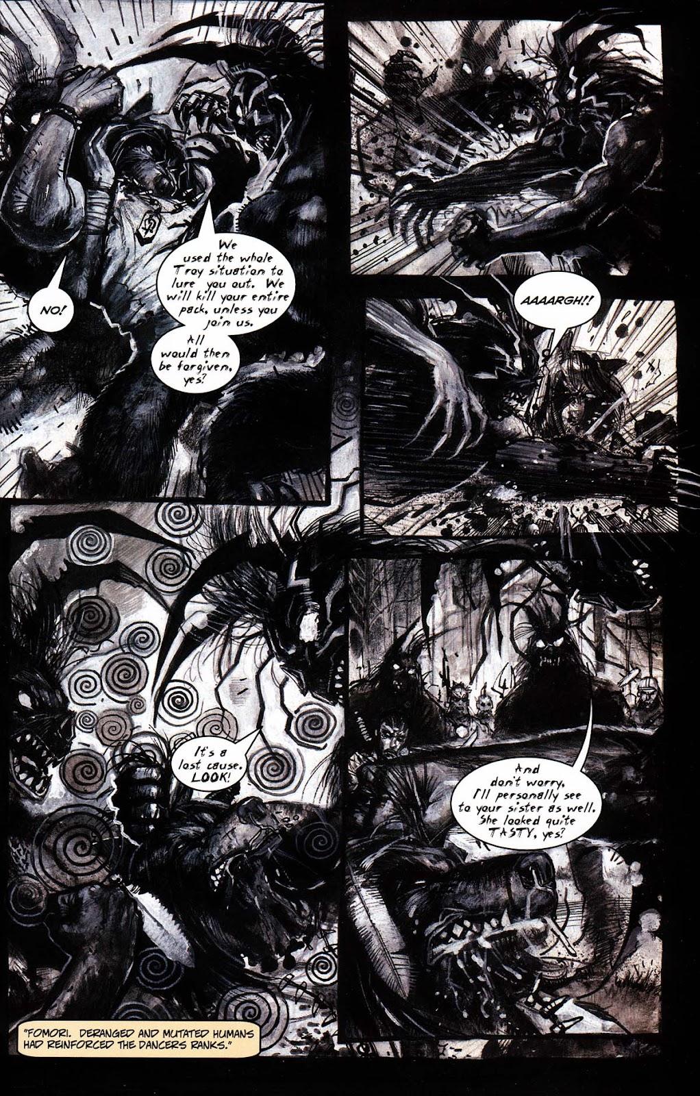 Read online Werewolf the Apocalypse comic -  Issue # Black Furies - 29