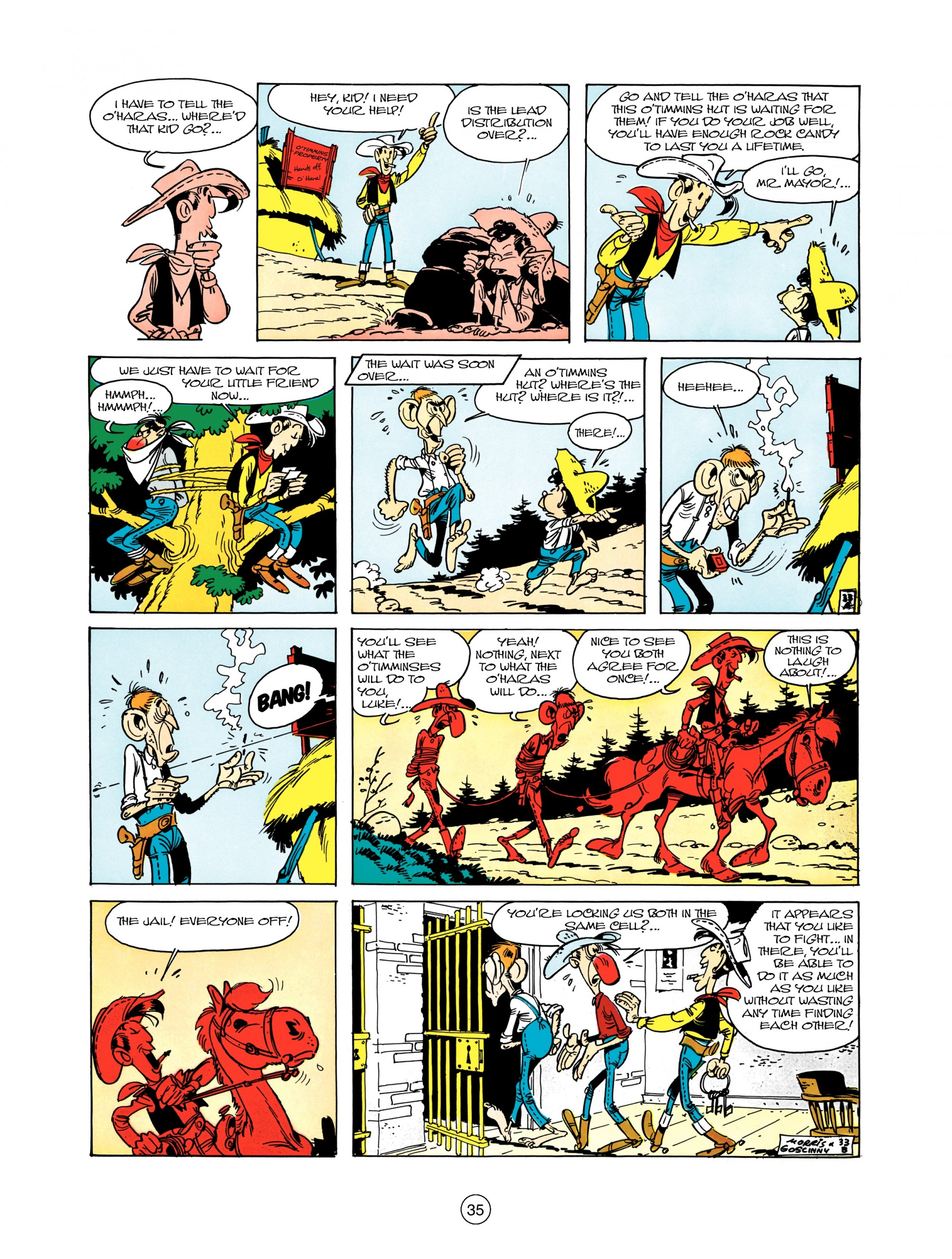 Read online A Lucky Luke Adventure comic -  Issue #12 - 35