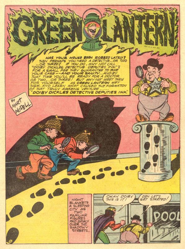 Green Lantern (1941) issue 8 - Page 45