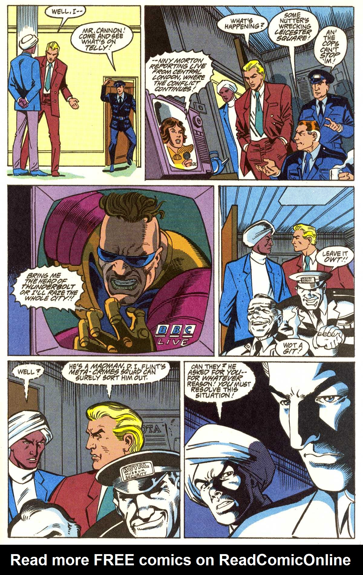Read online Peter Cannon--Thunderbolt (1992) comic -  Issue #5 - 14