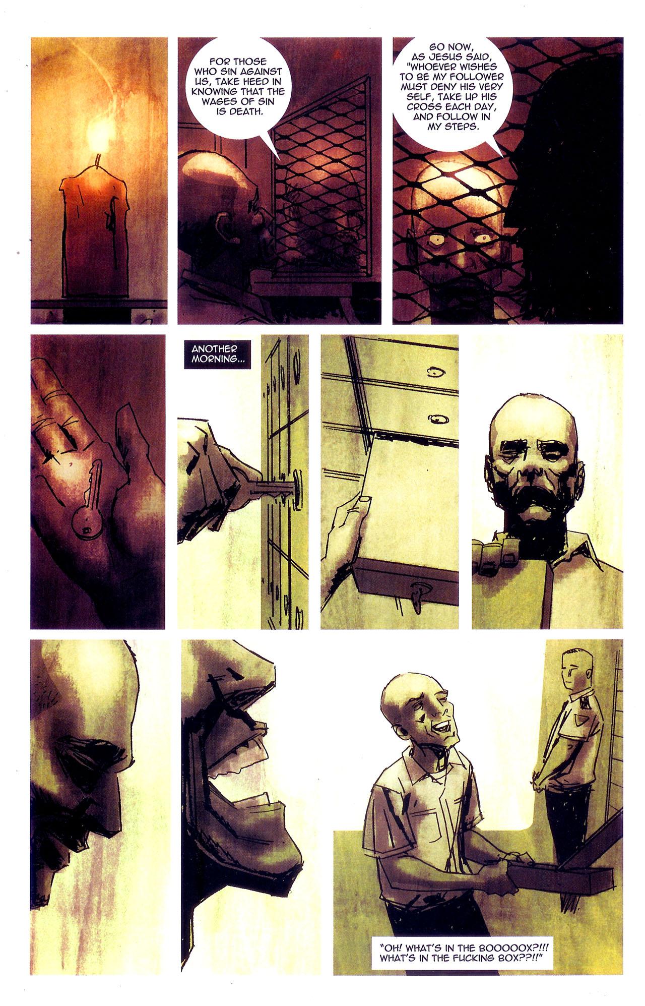 Read online Se7en comic -  Issue #7 - 25