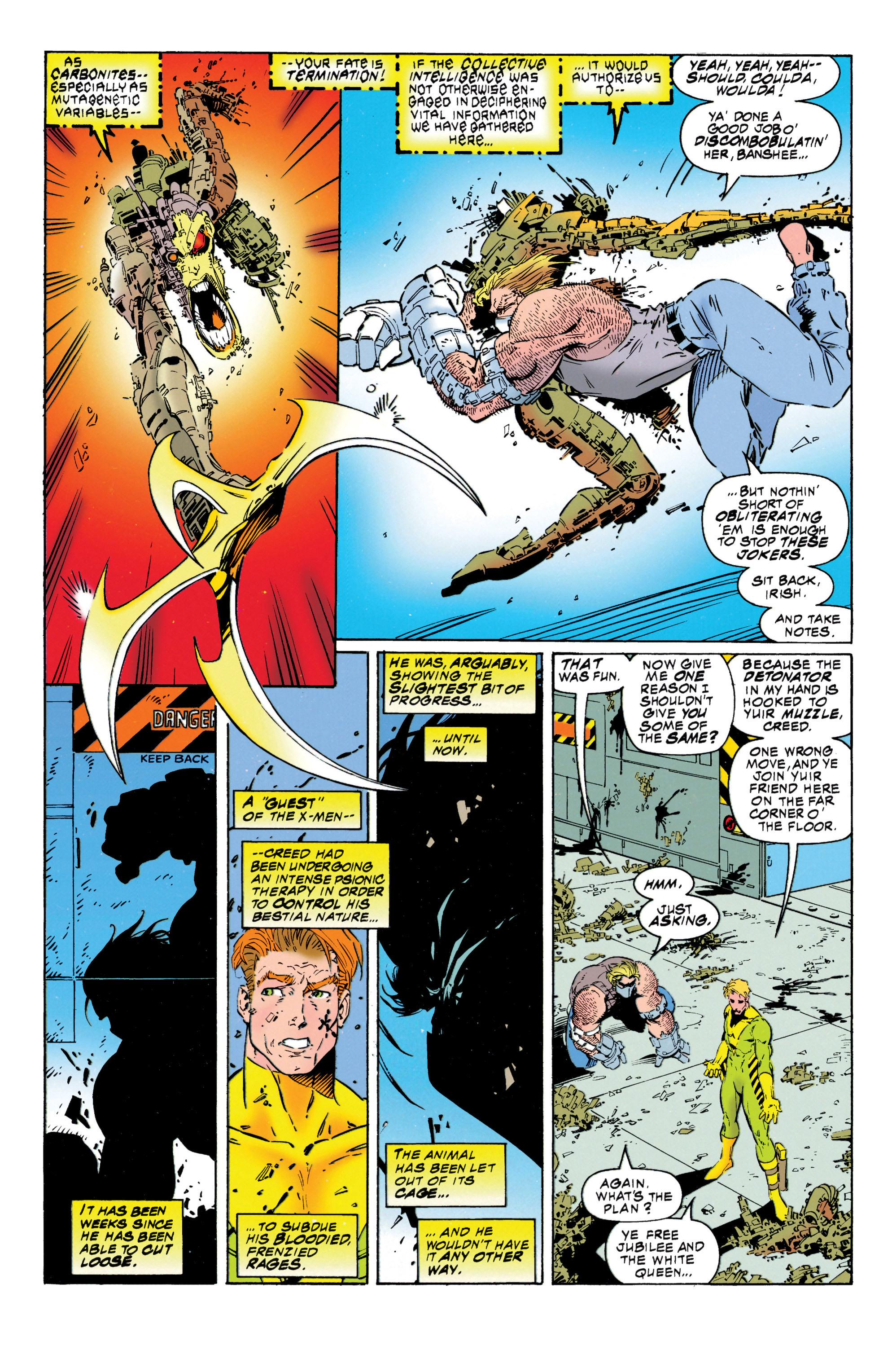 Read online Uncanny X-Men (1963) comic -  Issue #316 - 20
