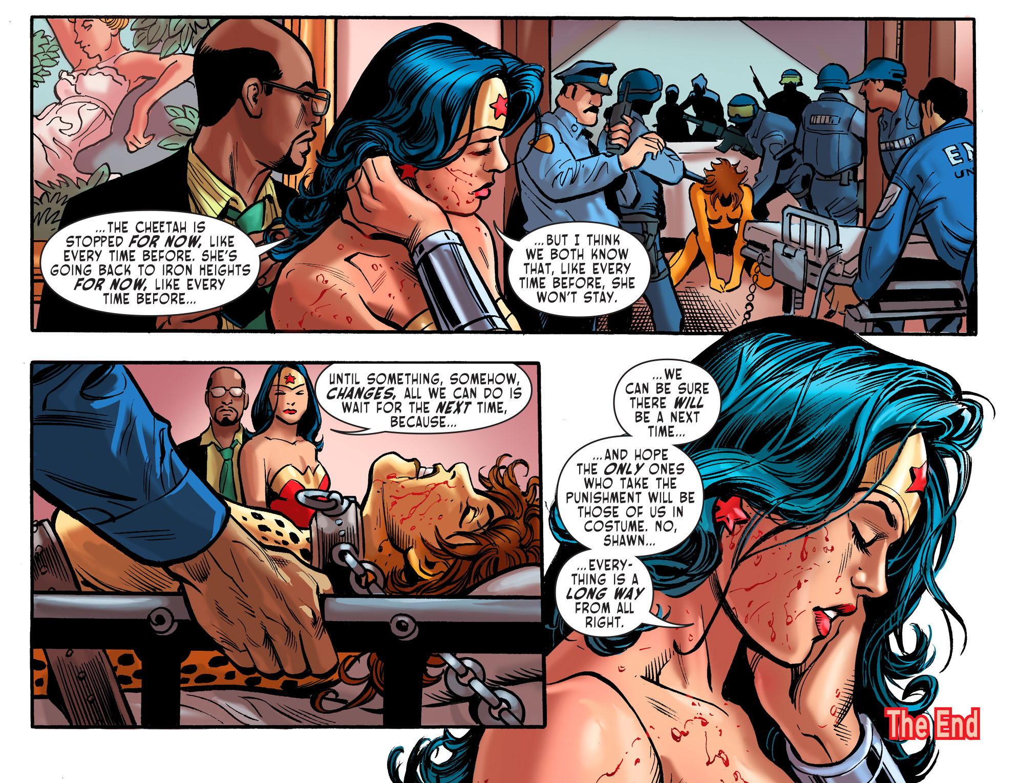 Read online Sensation Comics Featuring Wonder Woman comic -  Issue #41 - 23