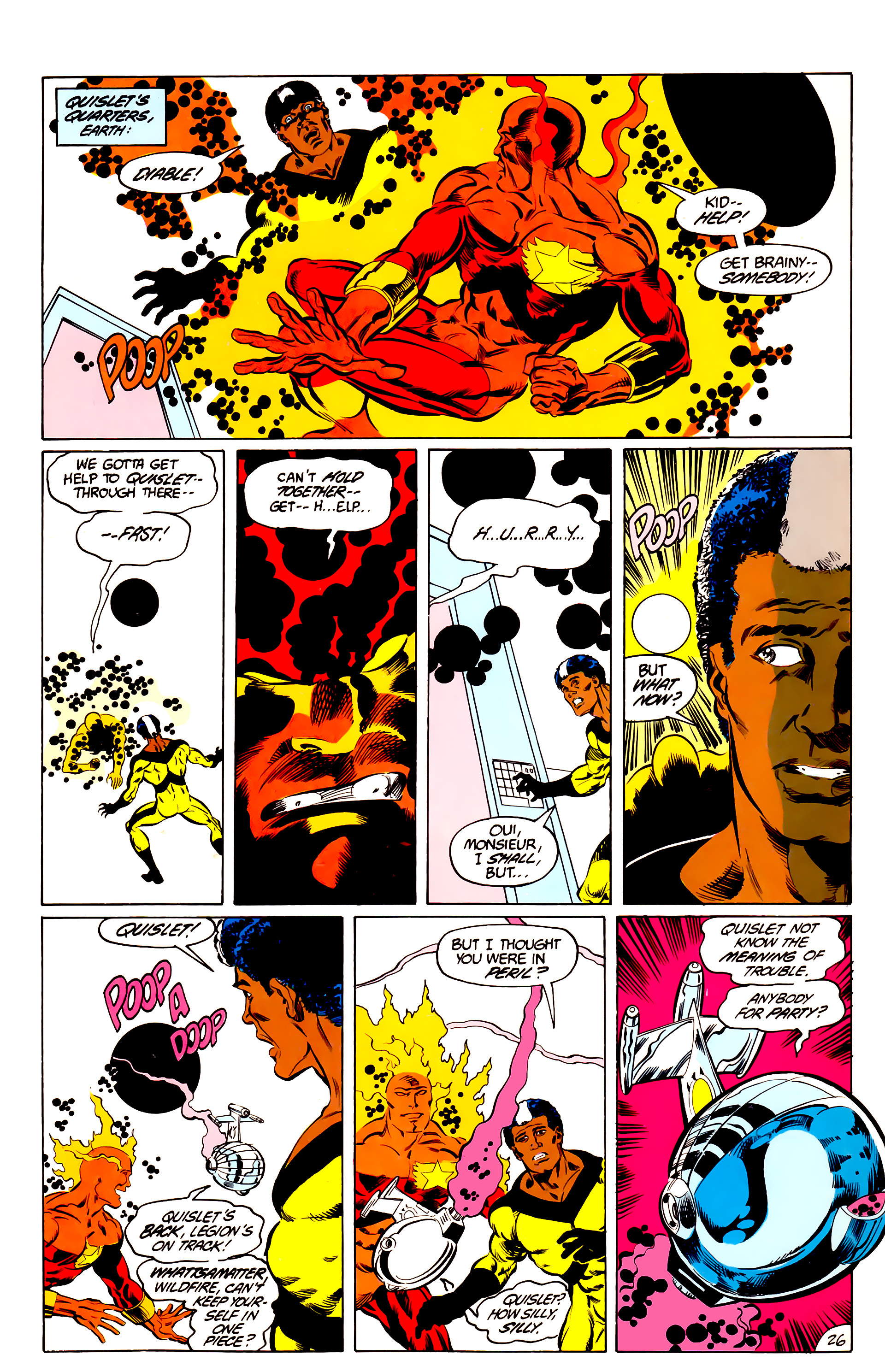 Legion of Super-Heroes (1984) 44 Page 26