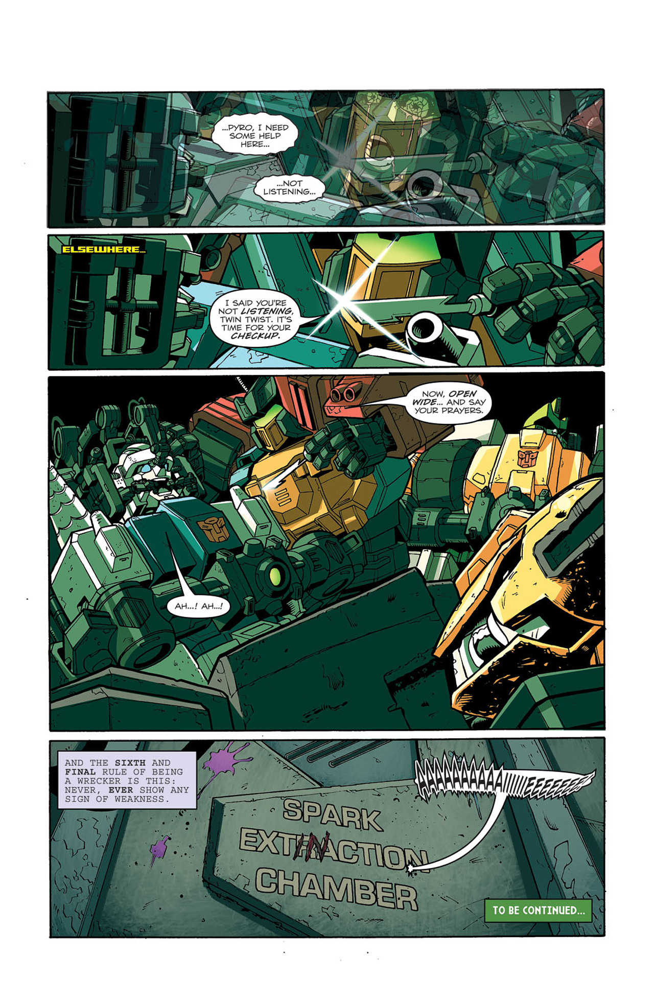 Read online Transformers: Last Stand of The Wreckers comic -  Issue #3 - 26