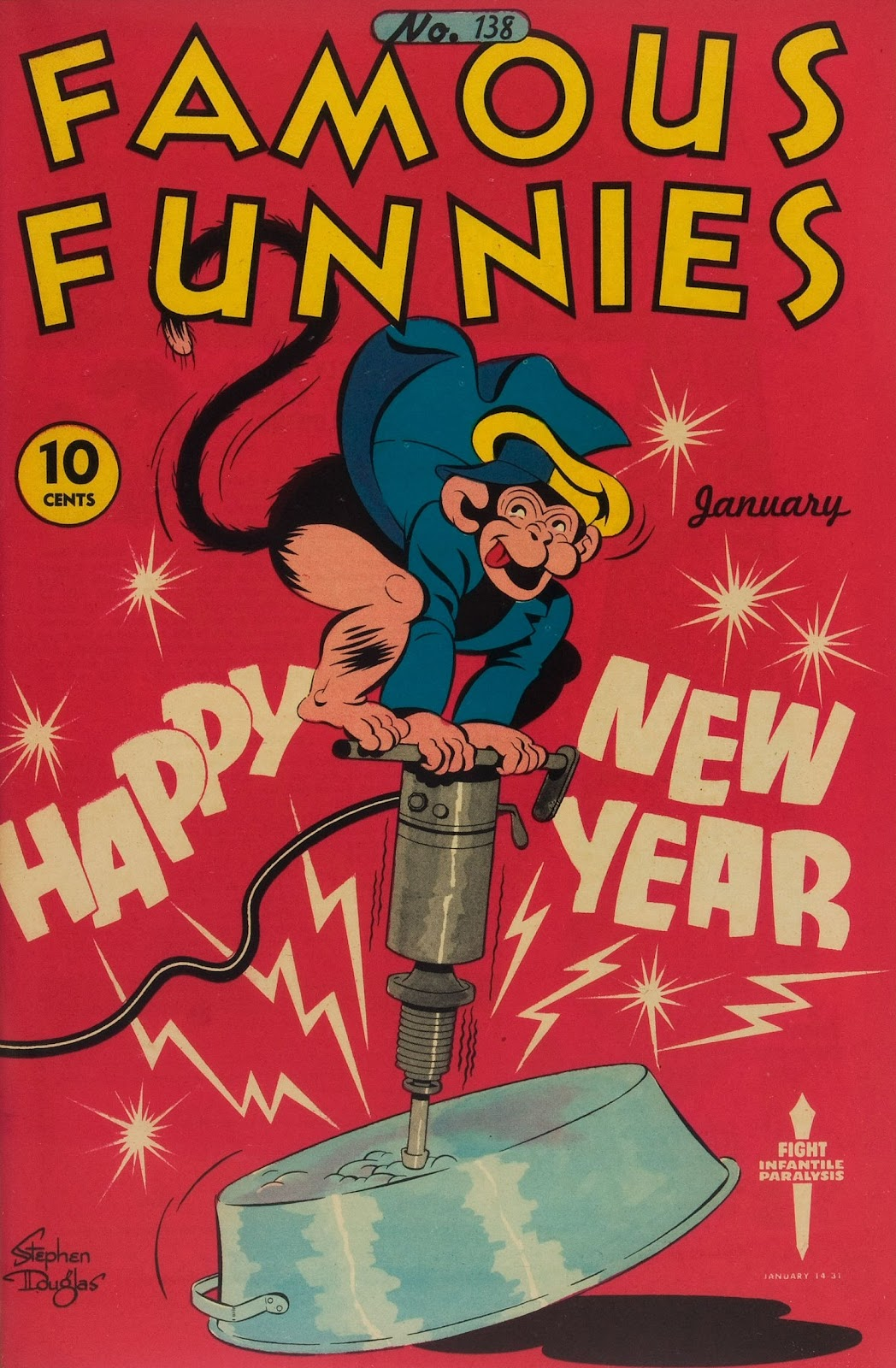 Read online Famous Funnies comic -  Issue #138 - 1