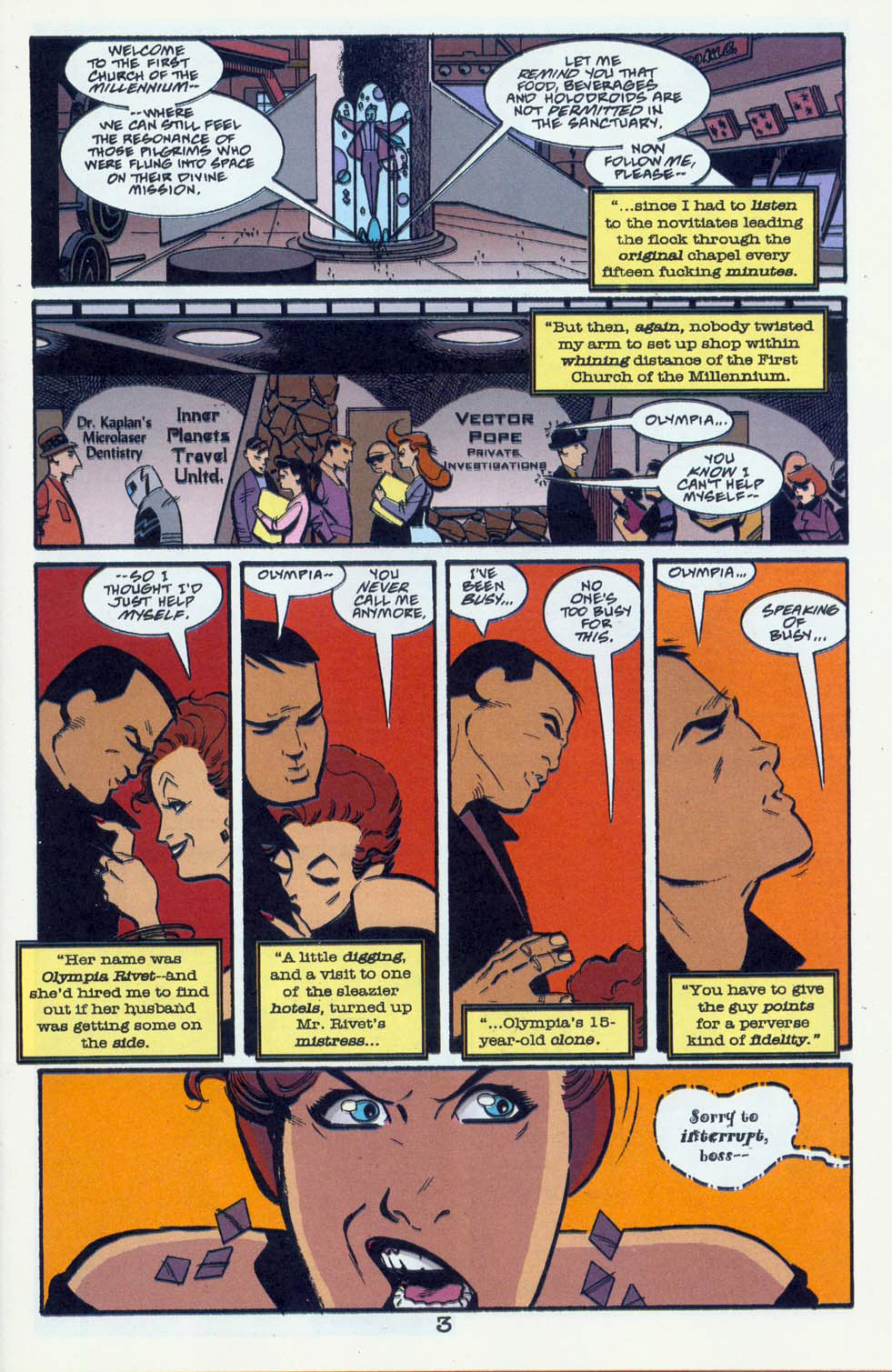 Read online Pulp Fantastic comic -  Issue #1 - 6