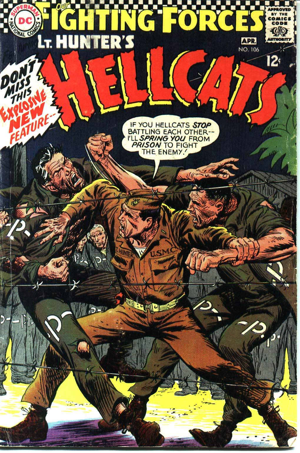 Our Fighting Forces (1954) issue 106 - Page 1