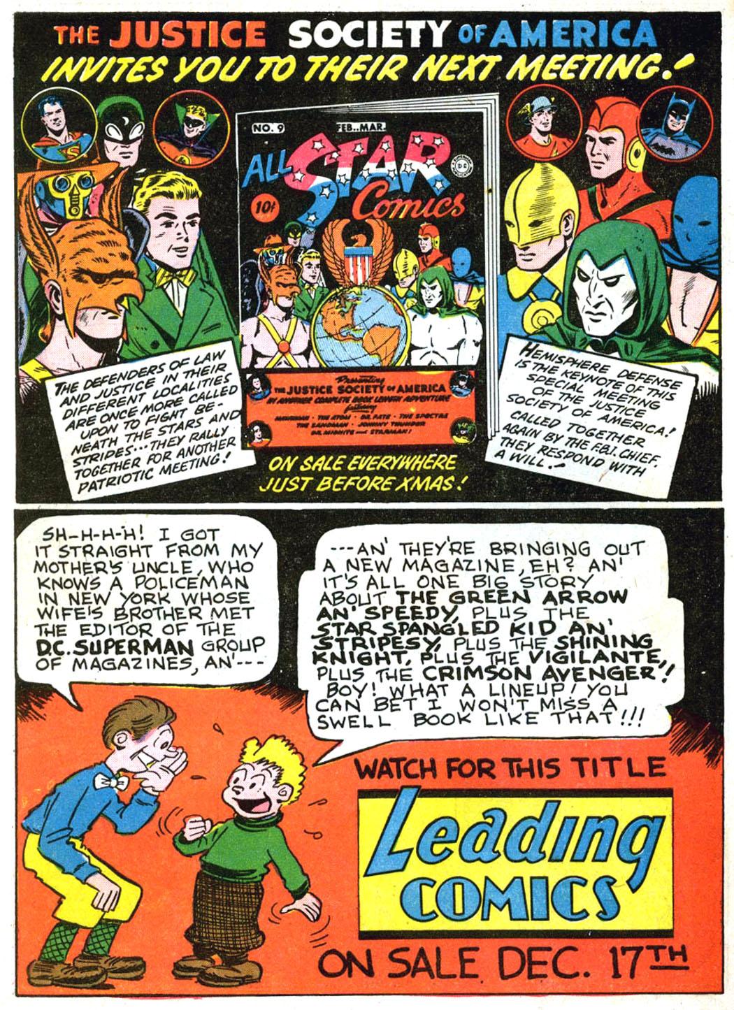 Read online Sensation (Mystery) Comics comic -  Issue #2 - 66