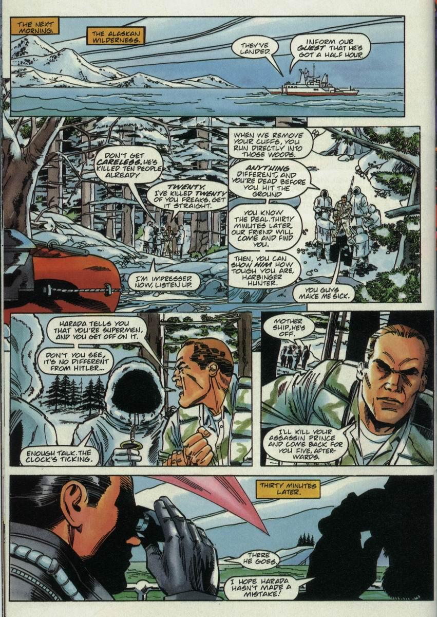 Read online Harbinger Files comic -  Issue #2 - 12