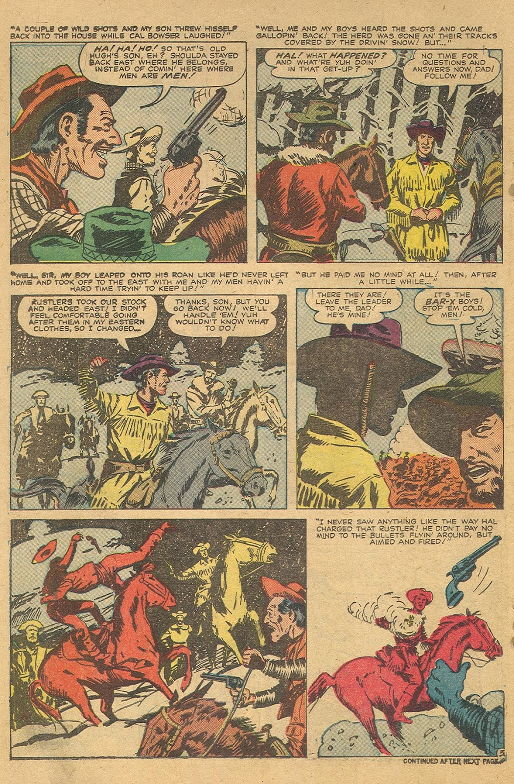 Gunsmoke Western issue 44 - Page 22