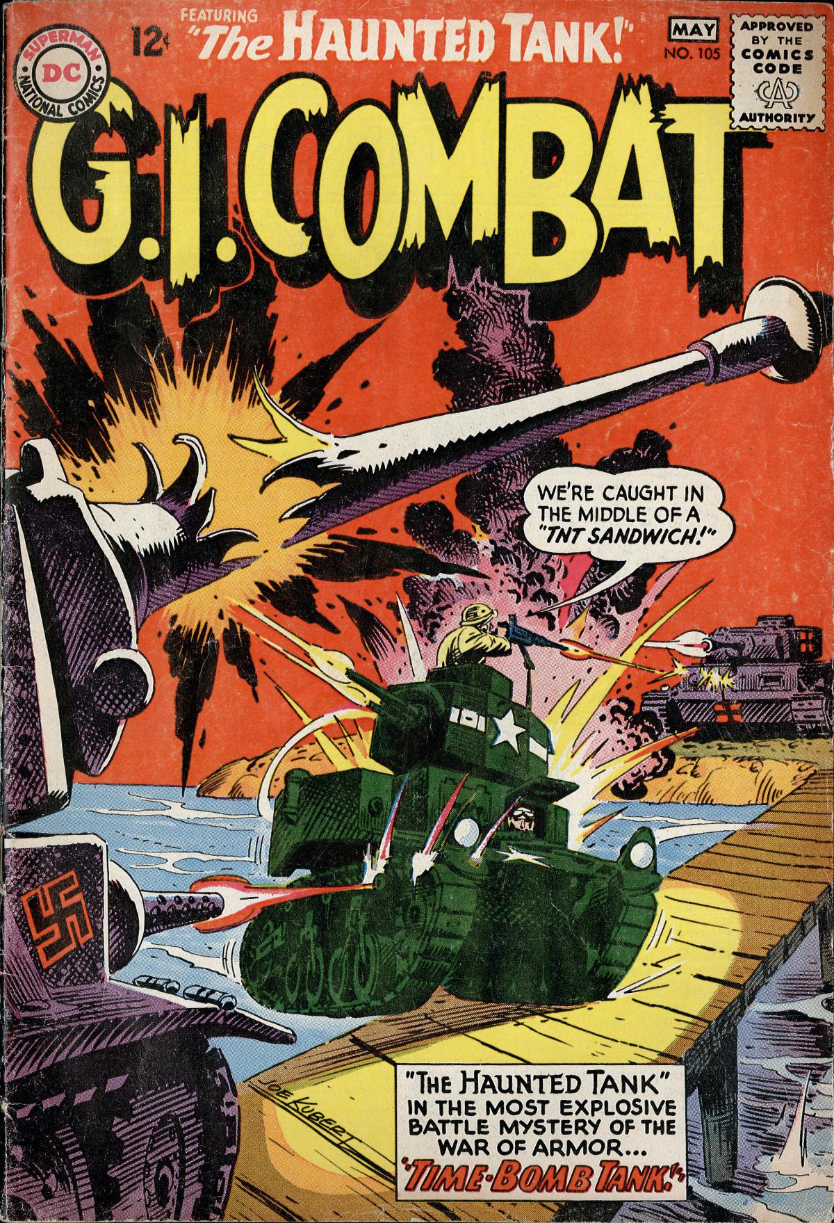 G.I. Combat (1952) 105 Page 1