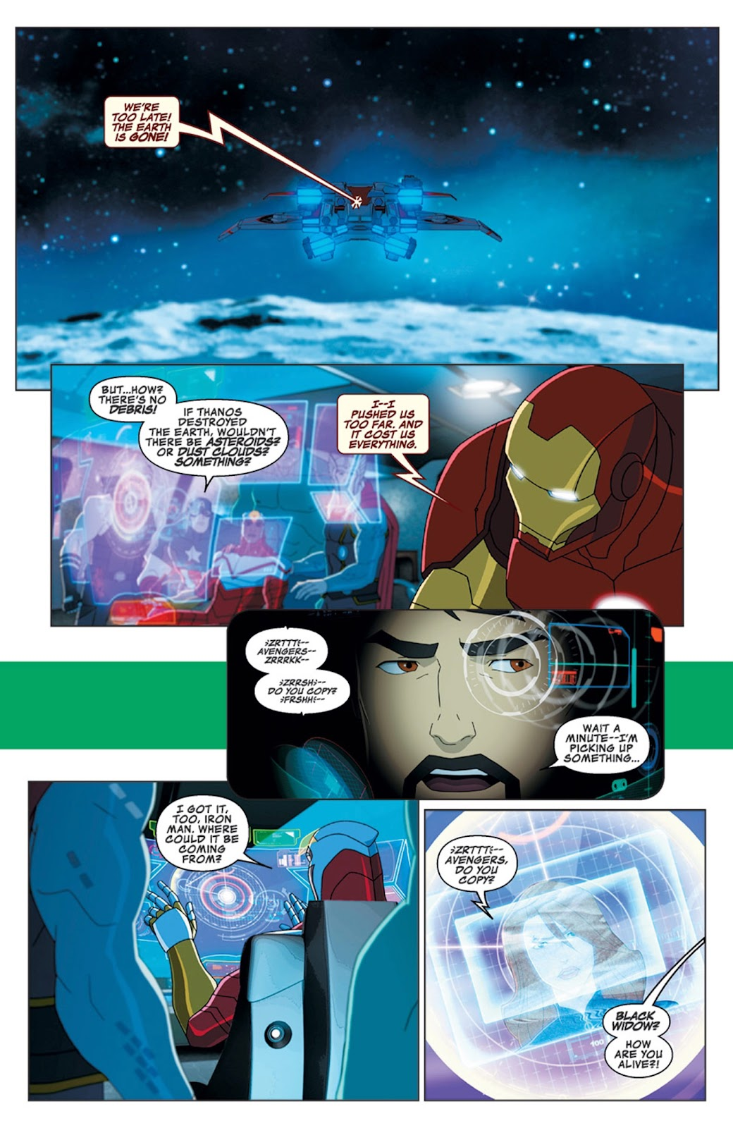 Read online Marvel Universe Avengers Assemble Season 2 comic -  Issue #16 - 4
