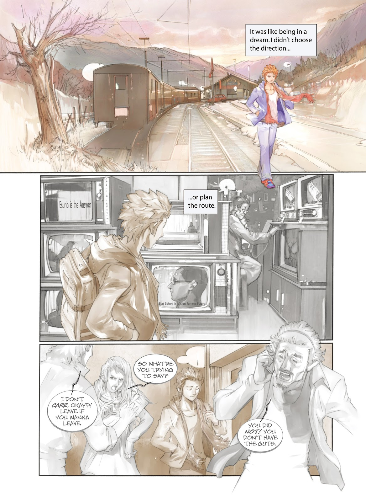 Read online Makeshift Miracle: The Girl From Nowhere comic -  Issue #1 - 8