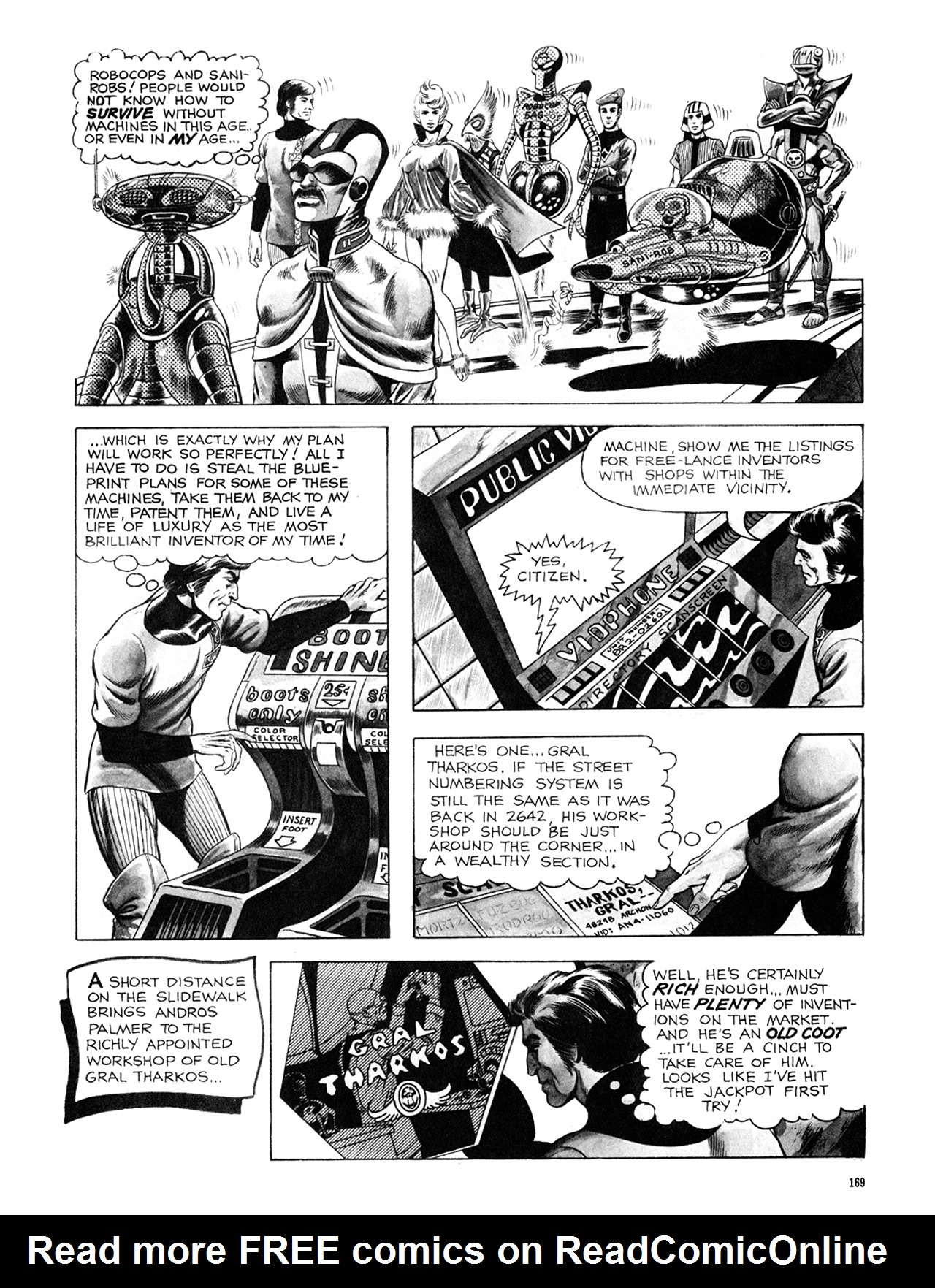 Read online Eerie Archives comic -  Issue # TPB 8 - 170