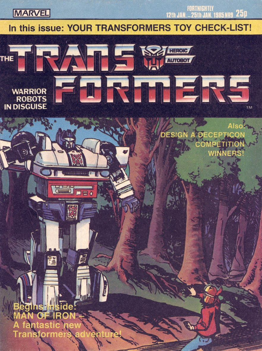 The Transformers (UK) 9 Page 1