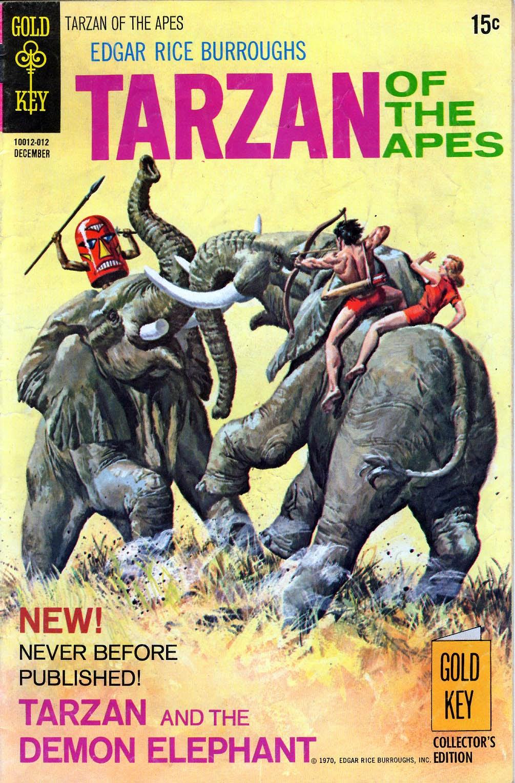 Tarzan (1962) issue 197 - Page 1